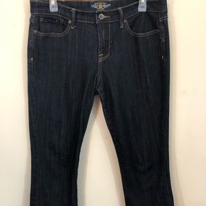 Lucky Brand Sweet n Crop Jeans Size 12/31